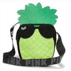 🍍NEW PINK Victoria's Secret Neon Pineapple Cooler